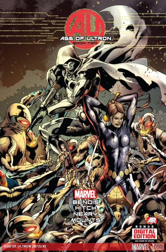 cover from Avengers: Age of Ultron (2013) #2 (ULTRON VARIANT)