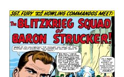 Sgt. Fury and His Howling Commandos #14 art by Dick Ayers