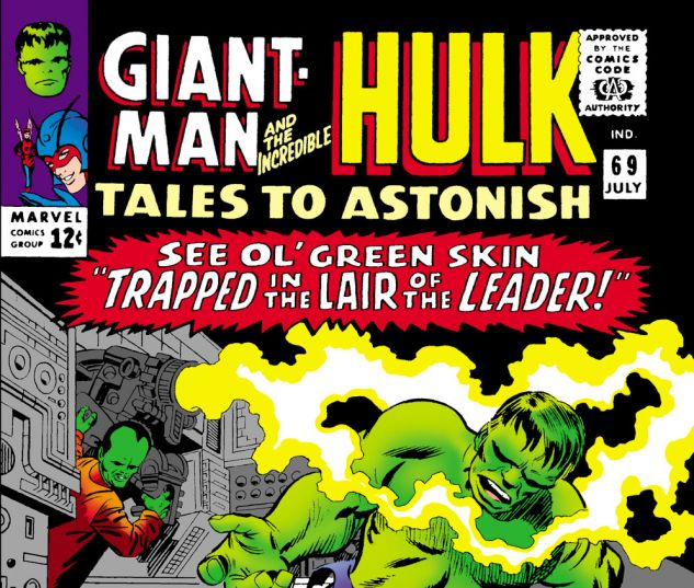 Tales to Astonish (1959) #69 Cover