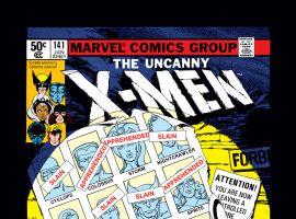 Uncanny X-Men (1963) #141 Cover