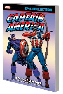 Captain America Epic Collection: Society of Serpents (Trade Paperback)