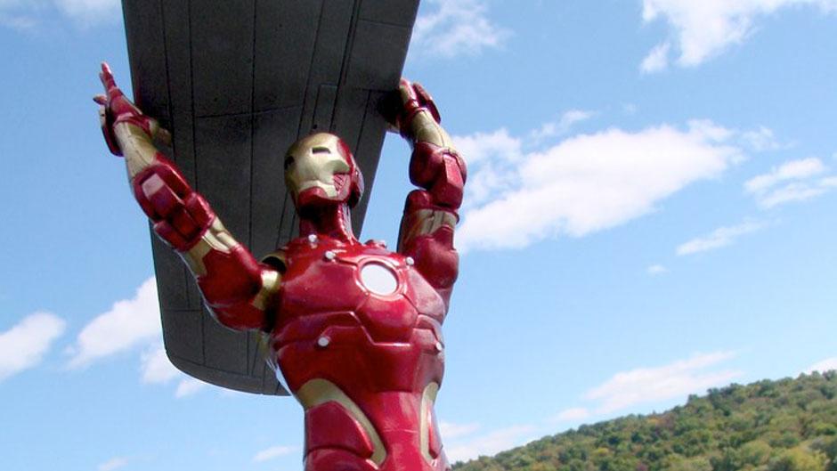 Bleeding Edge Iron Man Action Figure