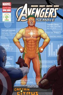 "The Avengers Featuring Captain Citrus In ""Amazing Inside"" #2"