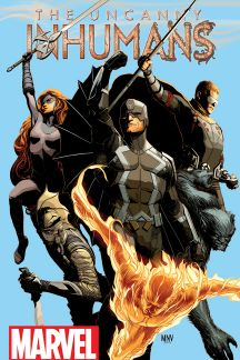 Uncanny Inhumans cover art by Steve McNiven