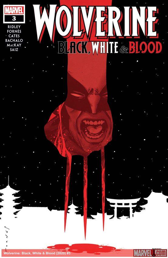 Wolverine: Black, White & Blood (2020) #3