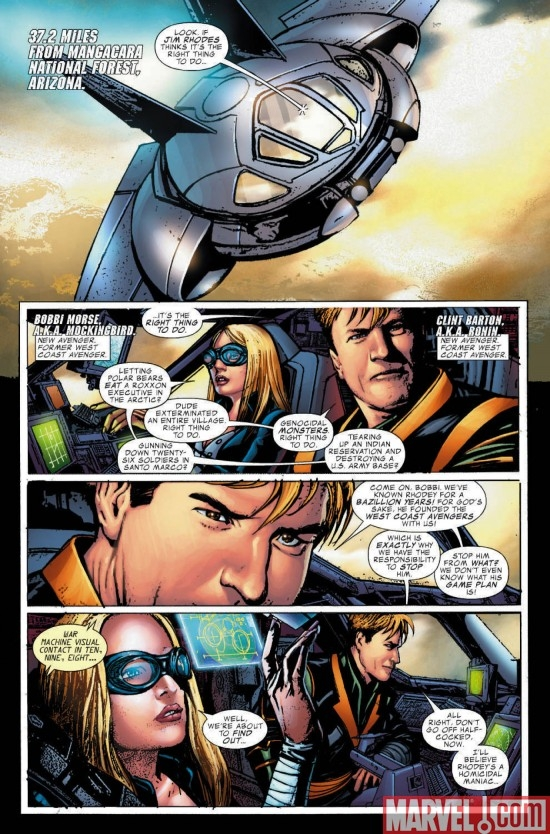 WAR MACHINE #8, page 1