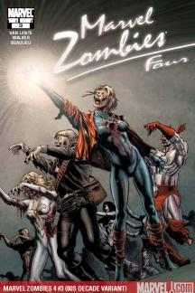 Marvel Zombies 4 (2009) #3 (80S DECADE VARIANT)