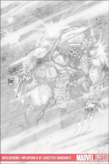 Wolverine Weapon X (2009) #1 (DAVIS VARIANT 20))