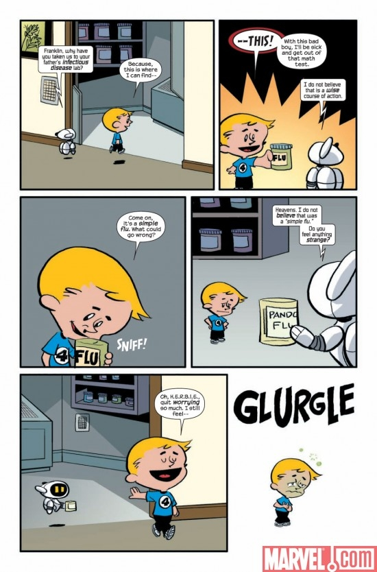 FRANKLIN RICHARDS: APRIL FOOLS! #1 preview page 3