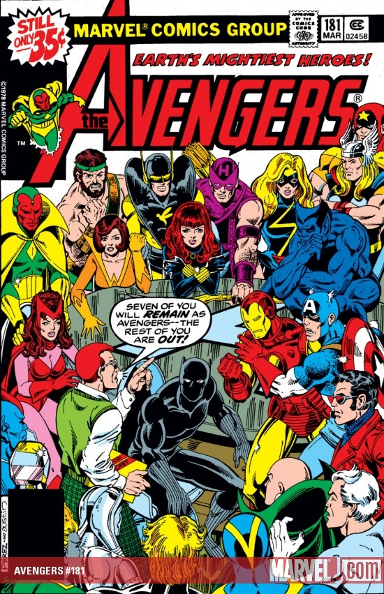 AVENGERS #181 COVER