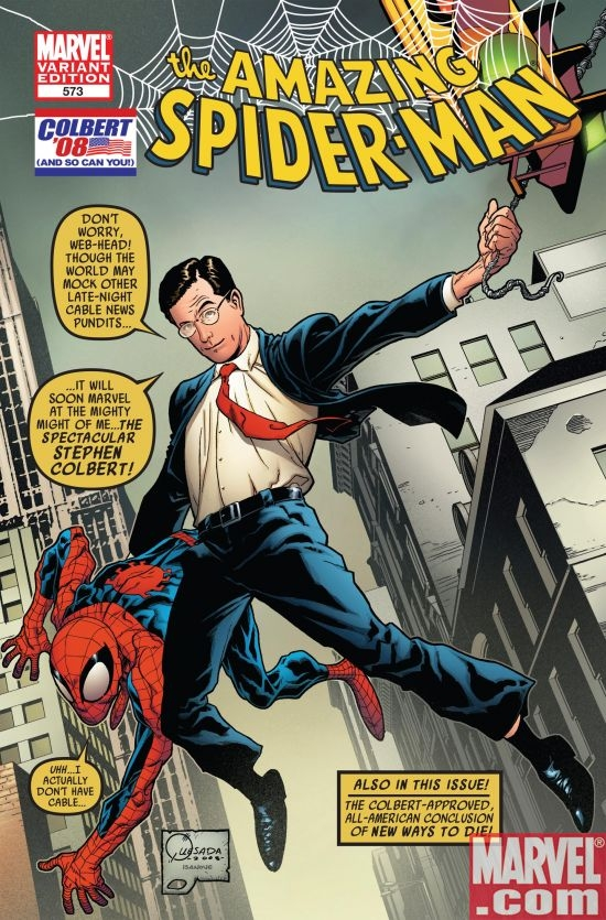 AMAZING SPIDER-MAN #573 COLBERT VARIANT