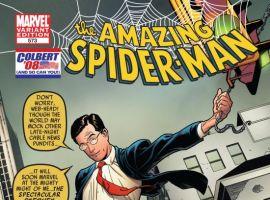 AMAZING SPIDER-MAN #573 COLBERT VARIANT