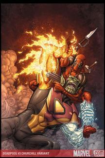Deadpool (2008) #3 (CHURCHILL VARIANT)