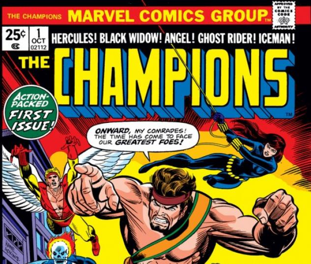 CHAMPIONS #11 COVER
