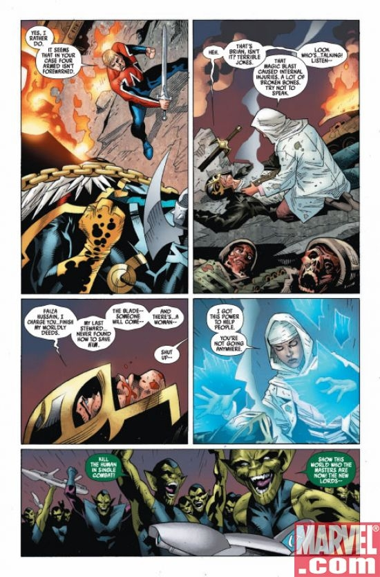 CAPTAIN BRITAIN AND MI:13 #4, page 2