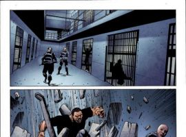 HOUSE OF M: AVENGERS #5 interior art by Mike Perkins
