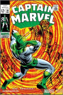 Captain Marvel (1968) #10