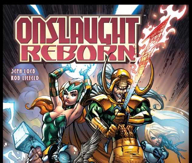 ONSLAUGHT REBORN (2008) #4 (CAMPBELL VARIANT) COVER
