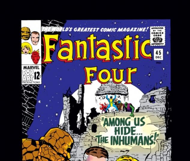 FANTASTIC FOUR #45