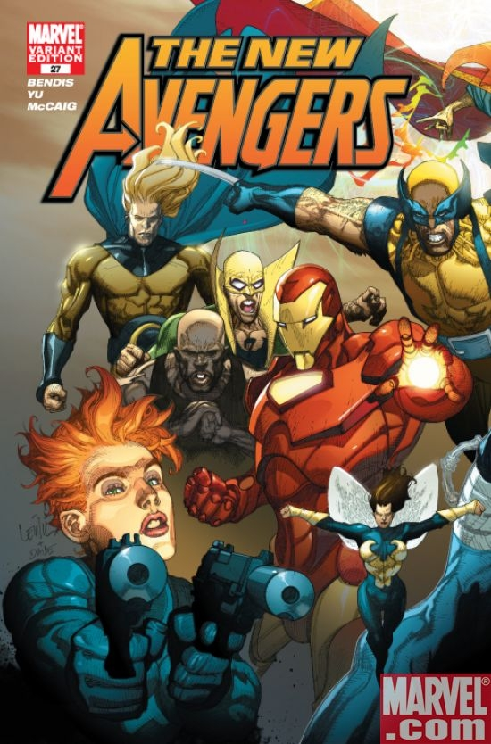 New Avengers #27 (Mighty Avengers var.)