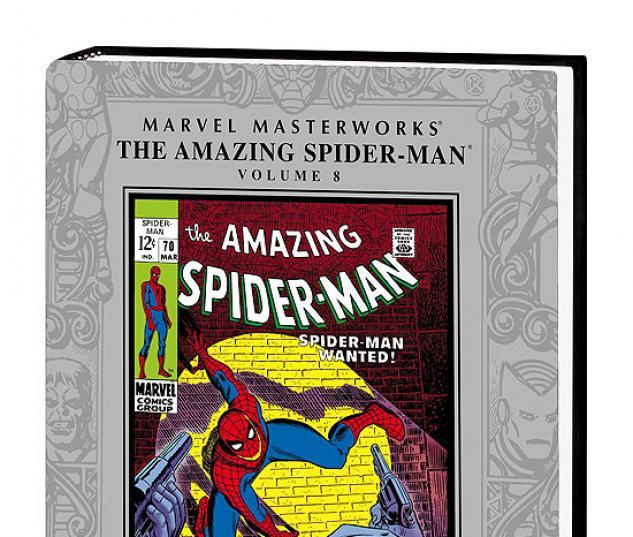 MARVEL MASTERWORKS: THE AMAZING SPIDER-MAN VOL. COVER