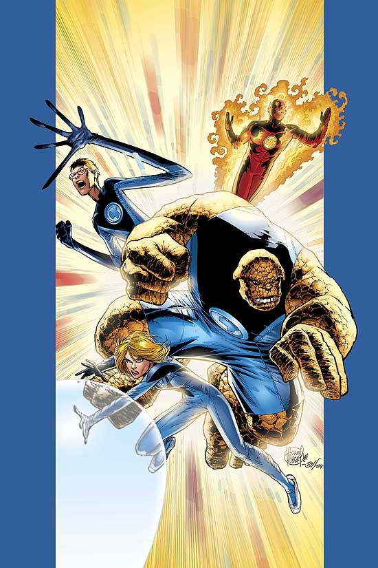ULTIMATE FANTASTIC FOUR (1999) #13 COVER