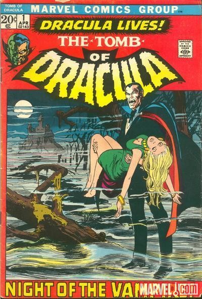 TOMB OF DRACULA #1 cover