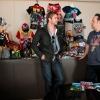 Chris Hemsworth Visits Marvel HQ