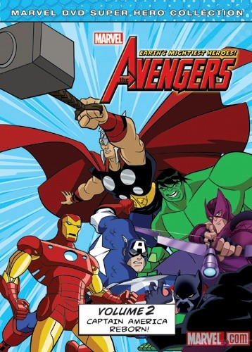 The Avengers: Earth's Mightiest Heroes! Vol. 2 DVD Box Art