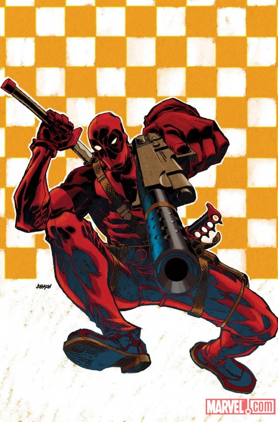 Deadpool by Dave Johnson