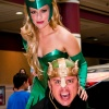 Thor Costumes: Elizabeth Rowland &amp; Sabre McGehee as Enchantress &amp; Loki