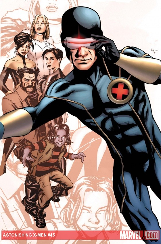 Astonishing X-Men #45 cover by Mike McKone