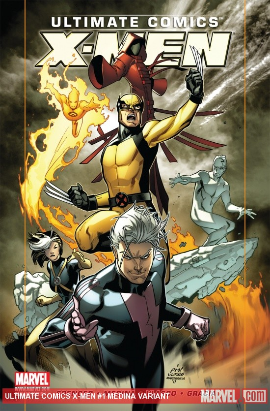 Ultimate Comics X-Men (2011) #1, Medina Variant