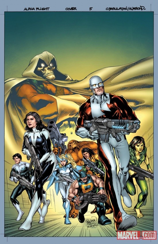 Alpha Flight #5 cover art by Carlo Pagulayan