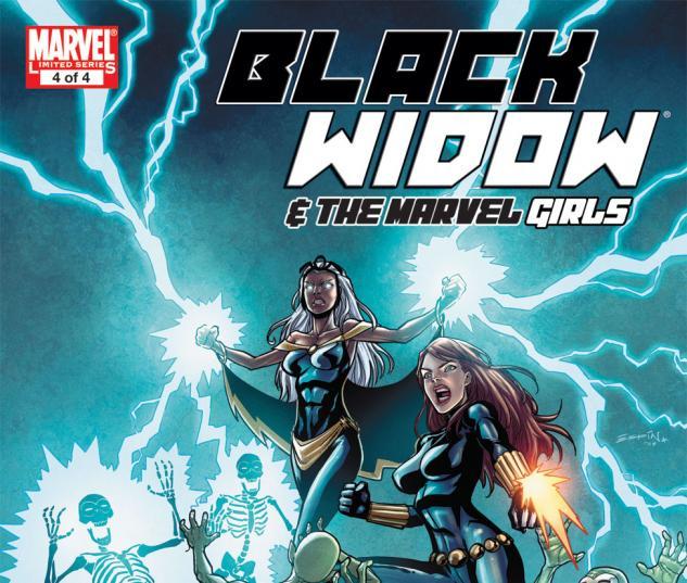 Black Widow & the Marvel Girls (2009) #4
