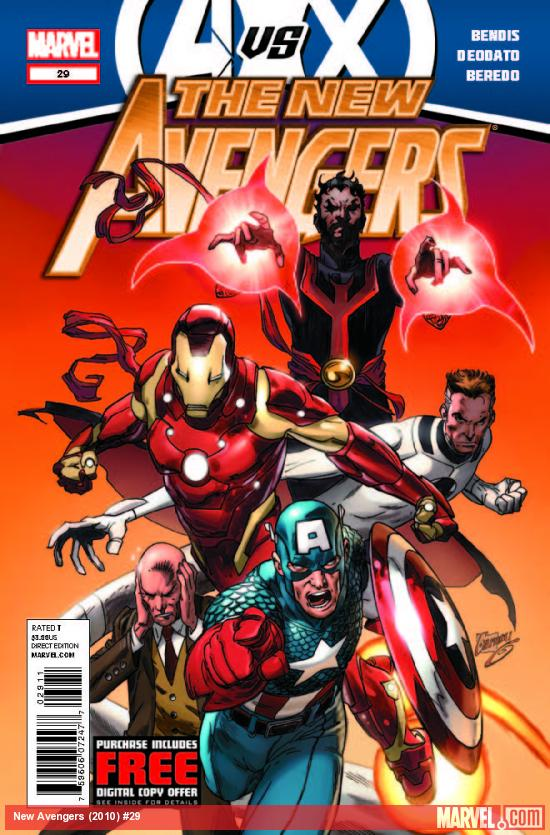 NEW AVENGERS 29 (AVX, WITH DIGITAL CODE)