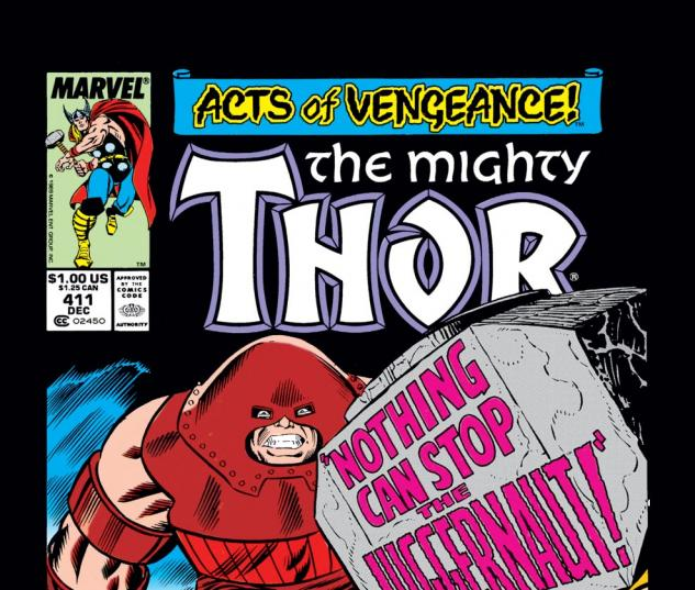 Thor (1966) #411 Cover