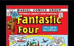 Fantastic Four (1961) #117 Cover