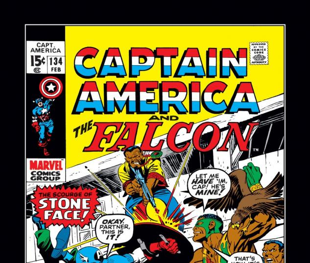 Captain America (1968) #134 Cover