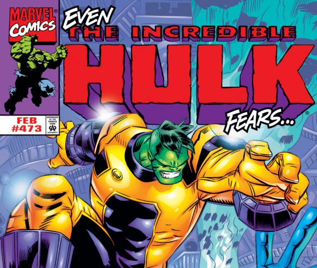 Incredible Hulk (1962) #473 Cover