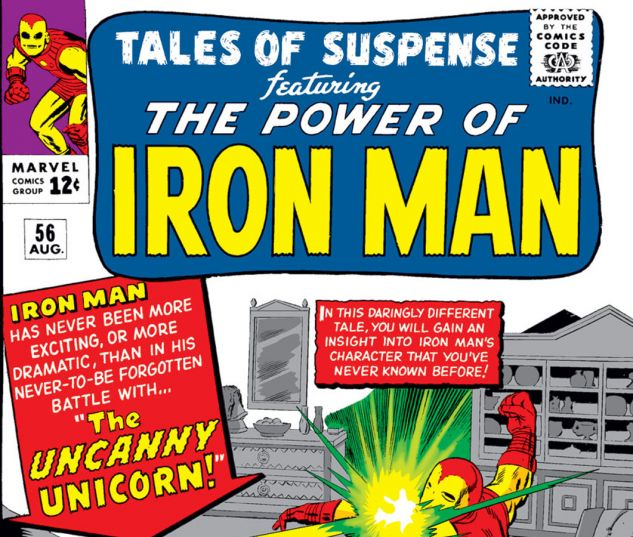Tales of Suspense (1959) #56 Cover