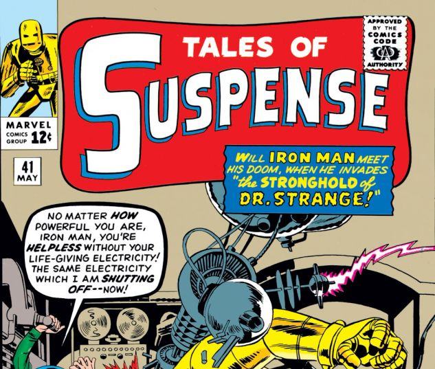 Tales of Suspense (1959) #41 Cover
