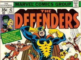 Defenders (1972) #62 cover