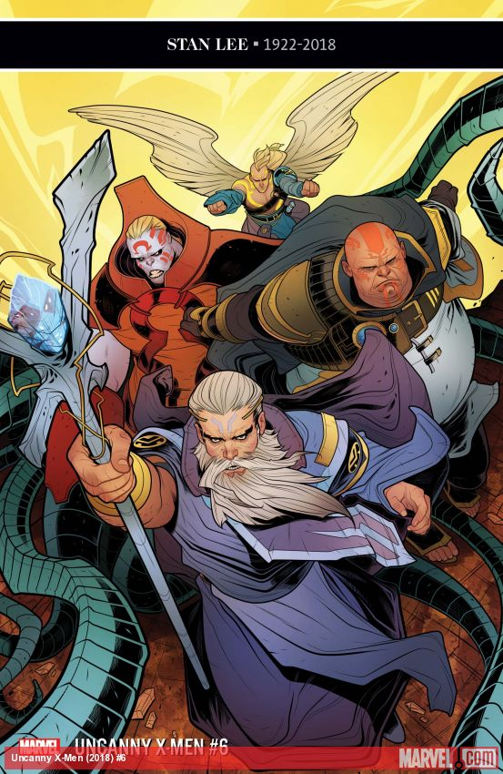 Uncanny X-Men (2018) #6