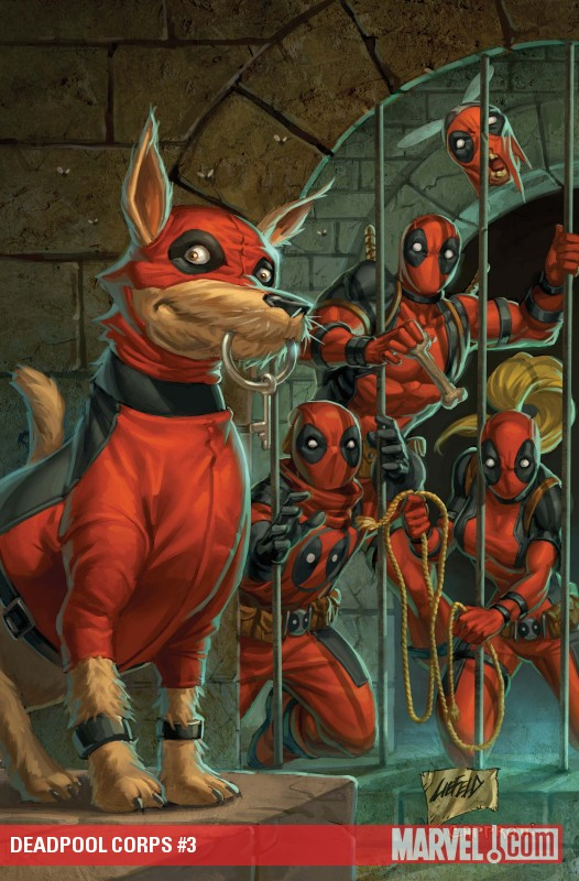 Deadpool Corps (2010) #3