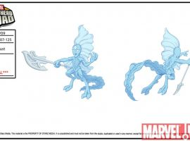 Stardust concept art from The Super Hero Squad Show