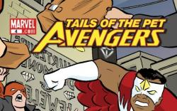 Tails of the Pet Avengers (2009) #4
