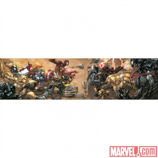ULTIMATES 3 #1 GATEFOLD COVER