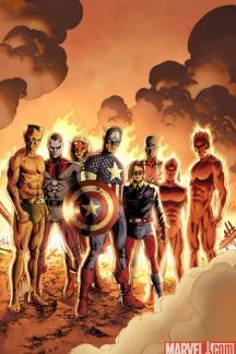 Captain America: Reborn (2009) #3 (CASSADAY VARIANT)