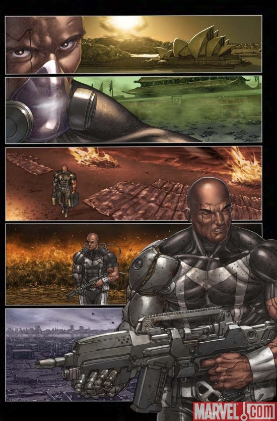 X-FORCE/CABLE: MESSIAH WAR PROLOGUE Interior Art